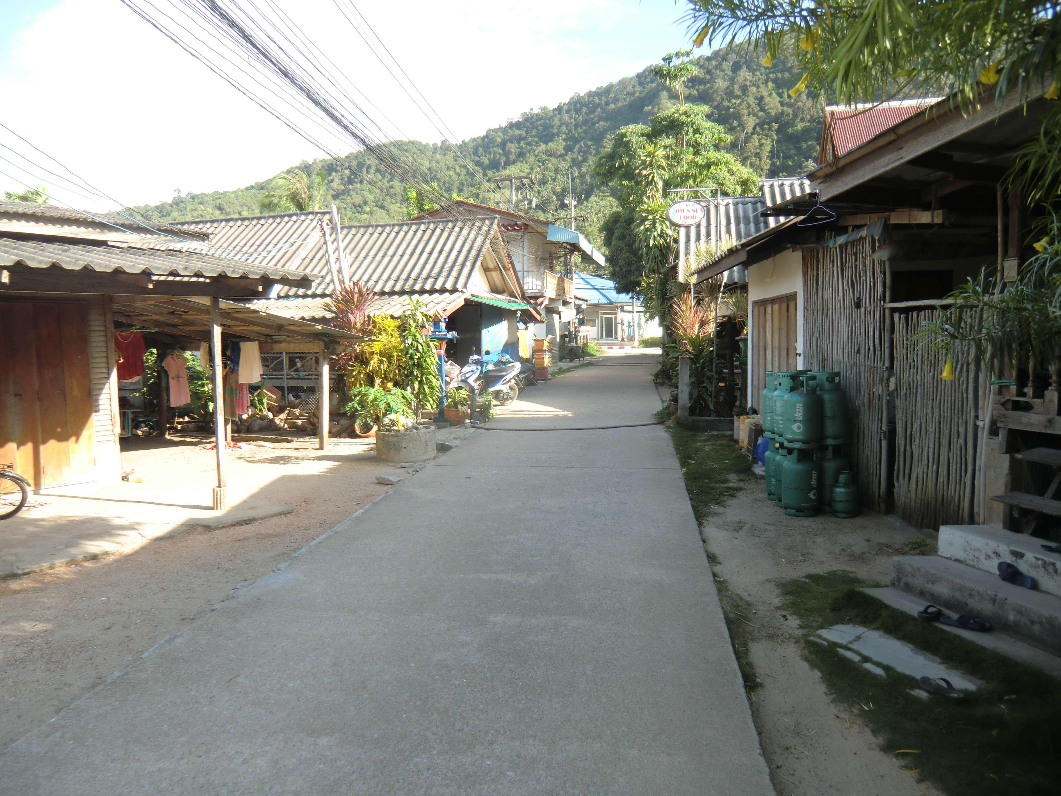 der Weg zur Hauptstraße
