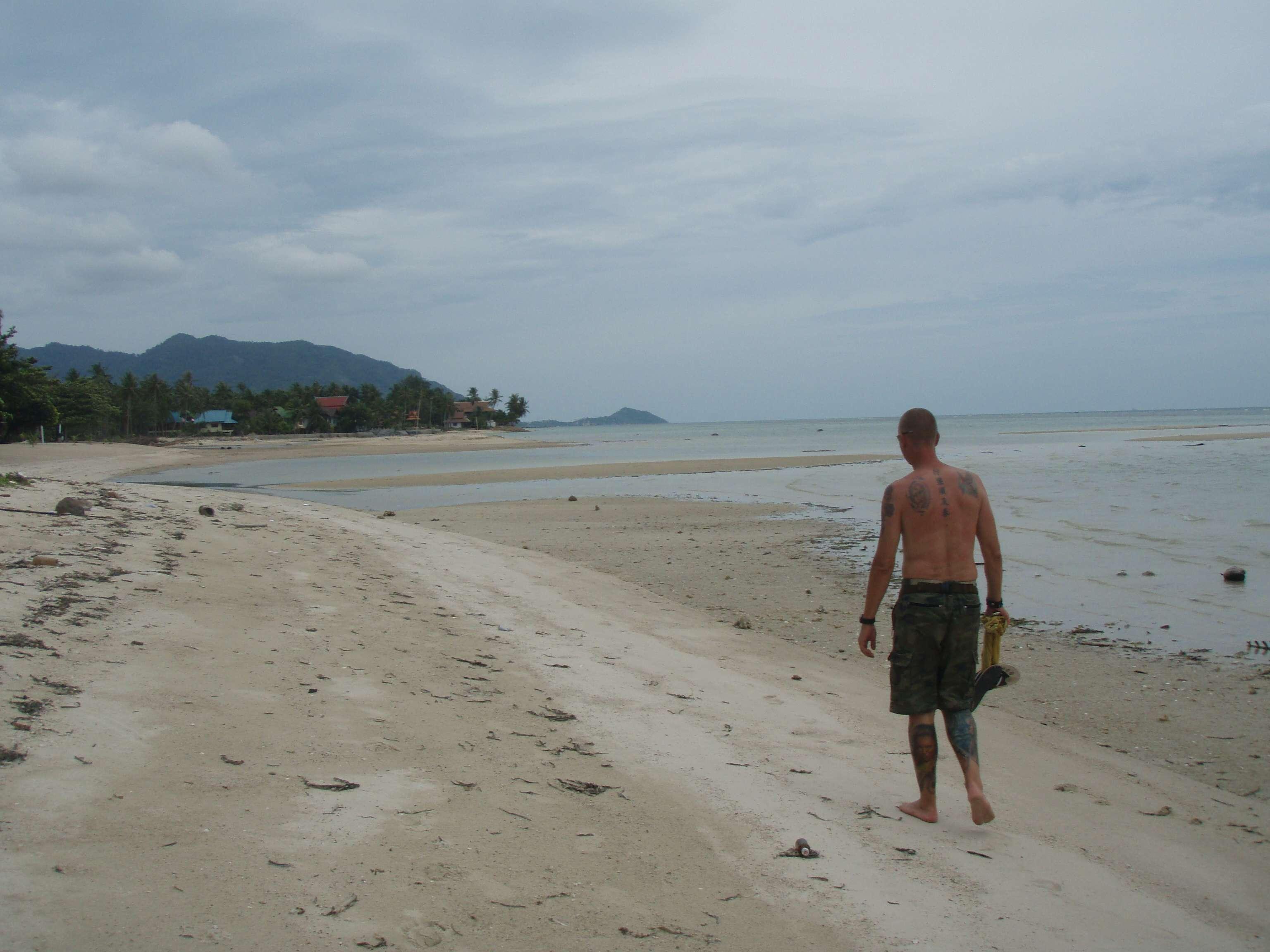 """Strand in Richtung """"Ban Tai"""""""