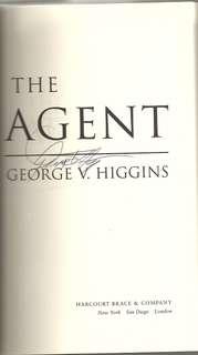 The Agent, Higgins, George V.